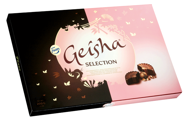 Geisha Selection assortii 200g